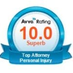 Steve Lingenbrink rated Superb Top Attorney AVVO